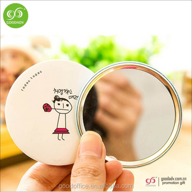 OEM Manufacturer wholesale cheap tin makeup mirror