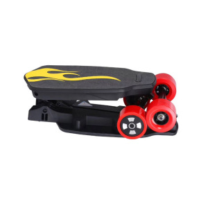 Cheap Foldable 500W electric skateboard price with Remote Control Key 400w Backpack Small Board