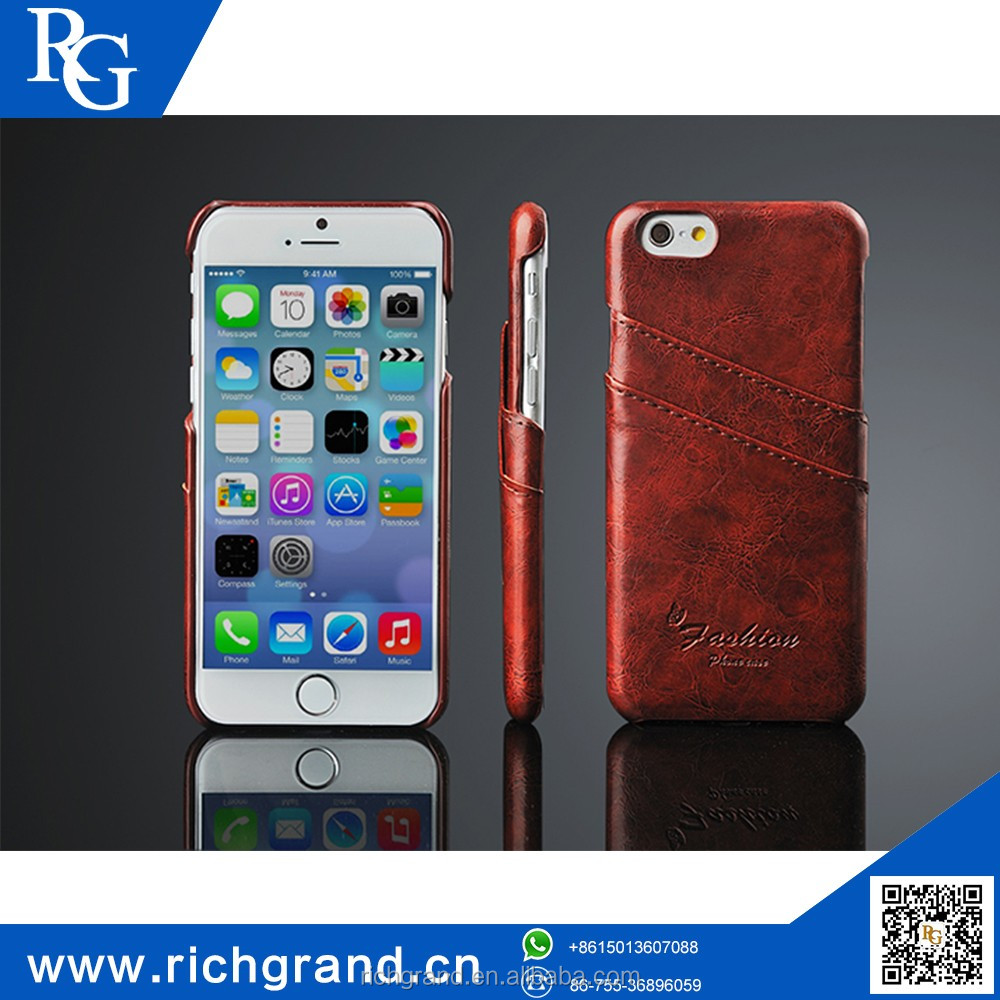 100% brand new PU leather design mobile phone cover