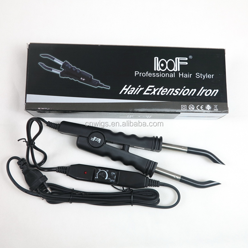 Wholesale Professional Hair Extension Fusion Iron Connectors Loof
