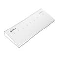 ORICO Aluminum 7 Port USB3.0 HUB with 3.3Ft / 1M USB3.0 Cable - Silver (H73)