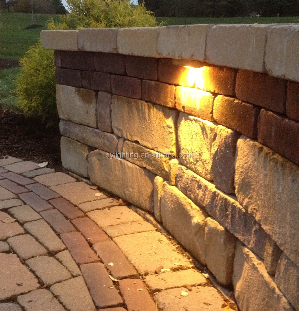 Stone Wall Lighting. Led Hardscape Lighting Retaining Wall Lights Stone