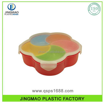 Plastic Divided Food Storage Container Set Buy Kitchen Container