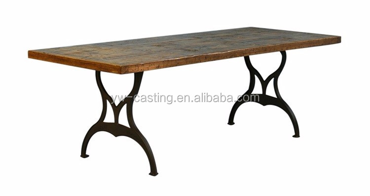 China Manufacture Antique Cast Iron Table Legs 60634554182 on Cast Iron Table Legs