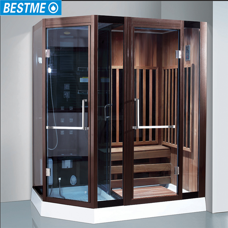 New Design Steam Sauna Shower Room Combination Wood Personal Outdoor Product On Alibaba