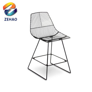 Model dining room furniture designer pp plastic chair for restaurant