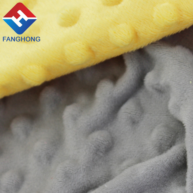 China manufacturer customized soft fabrics for blankets fabric names shannon retail from famous supplier