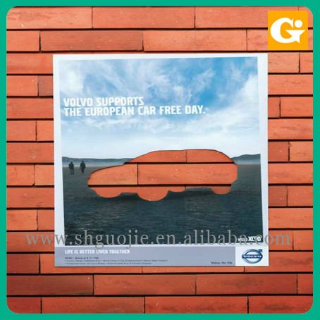 Wholesale digital printing outdoor advertising vinyl poster paper