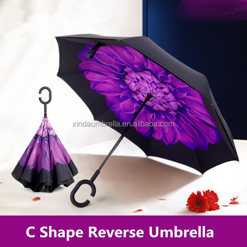lo mas baratas selección premium más de moda Amazon más vendido 2017 paraguas invertido logotipo ...