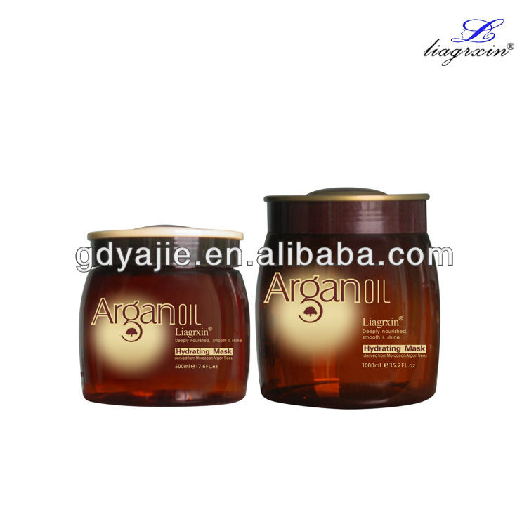500ml/1000ml professional hair mask/hair relaxer cream OEM is available