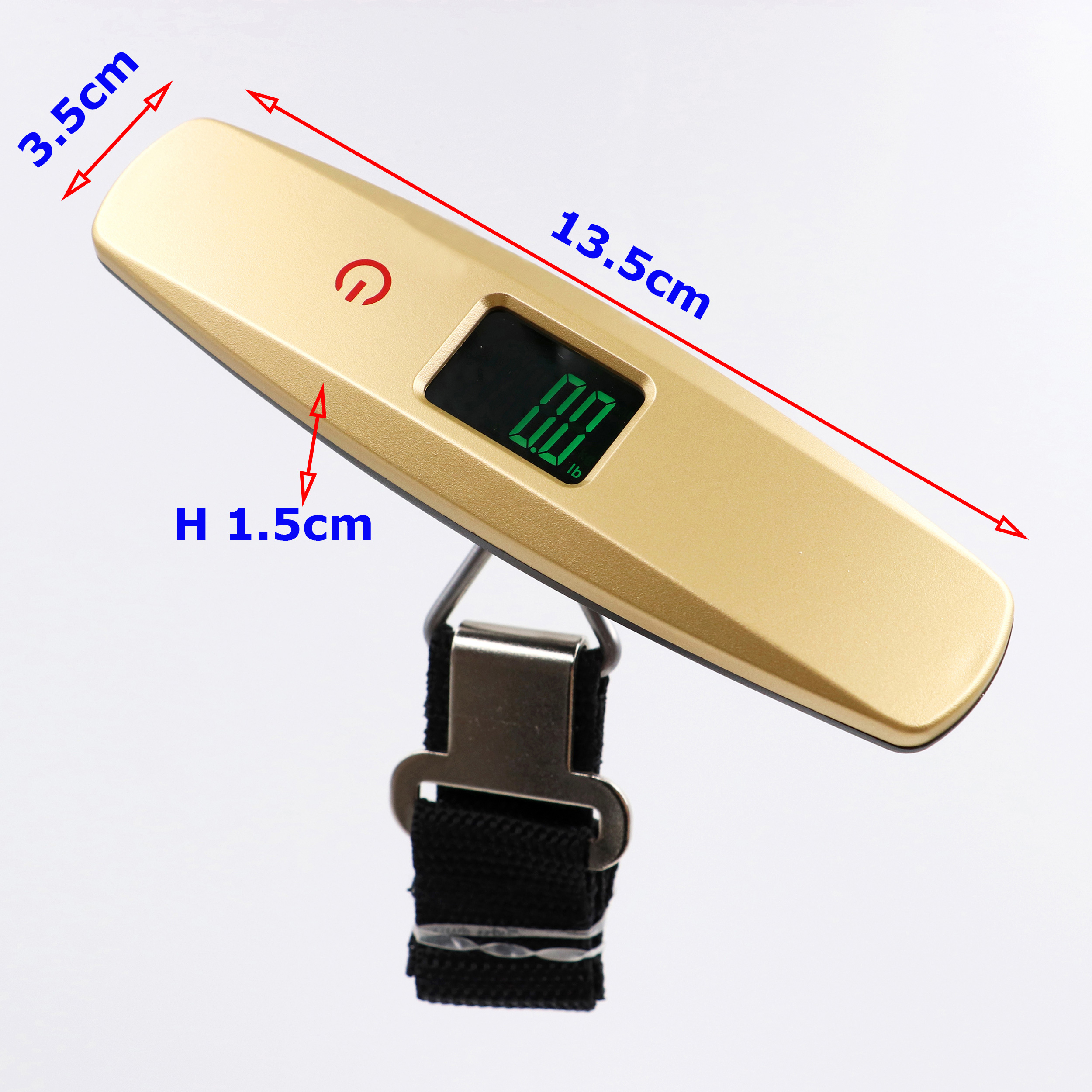 Touch switch New style promotional gift digital portable luggage scale 50kg / 10 g