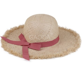 Ladies Popular Handmade Raffia Straw Knitting Summer Hat - Buy ... 9576a6e944a