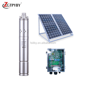 wholesale dc solar submersible pump borehole pumps for agricultural