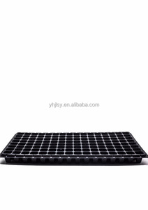 128 cells plastic plug seed tray, 1.0mm thickness, 155g