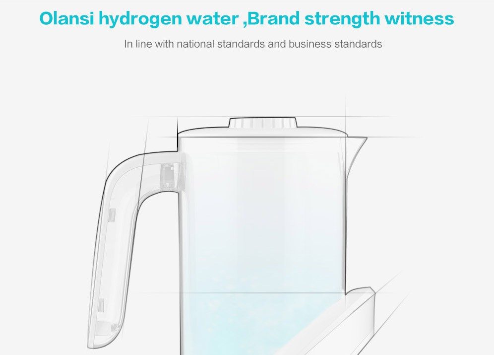2018 trending products kitchen appliances Hydrogen content higher portable hydrogen water generator