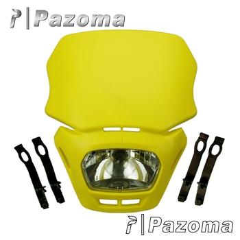 Pazoma 12v/18w Yellow Polypropylene Naked Motorcycles,Dirt