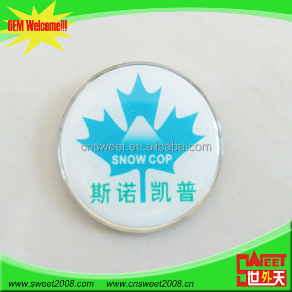 Professional Wholesale Fashion Custom hard plastic name badge