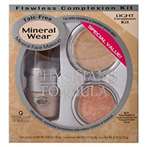Physicians Formula Mineral Wear Kit Flawless Complexion Kit, Light 1040 1 kit