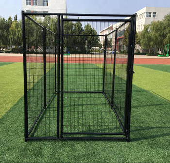 China a large number of wholesale welded wire mesh dog kennels dog run kennels
