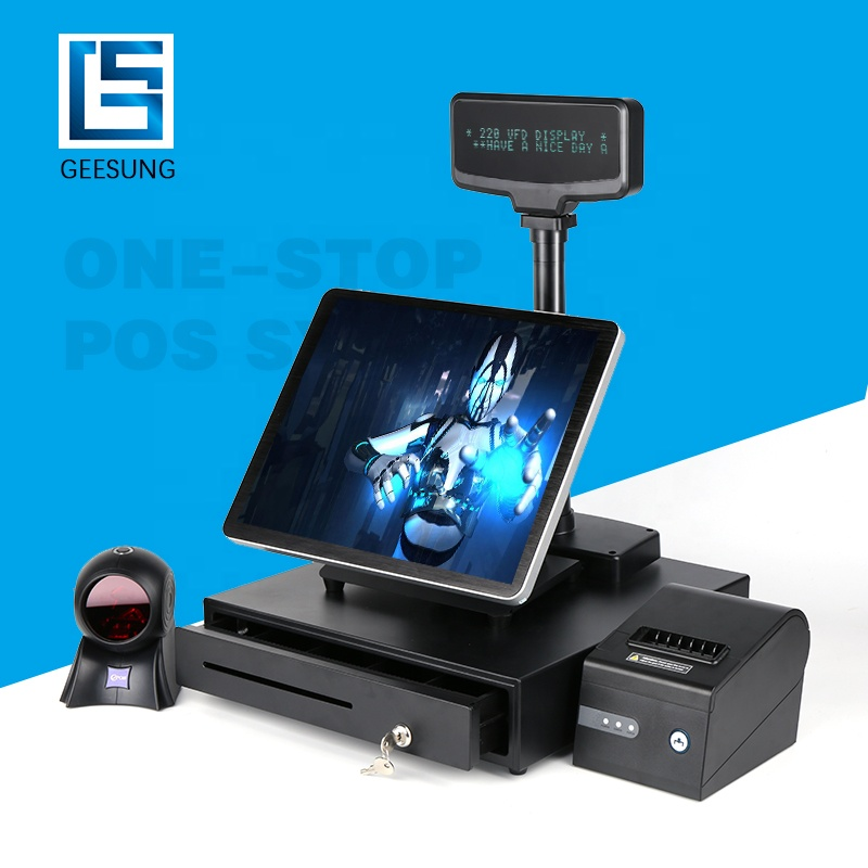 Cash machine/pos-systeem touch screen kassa Windows POS/Android POS