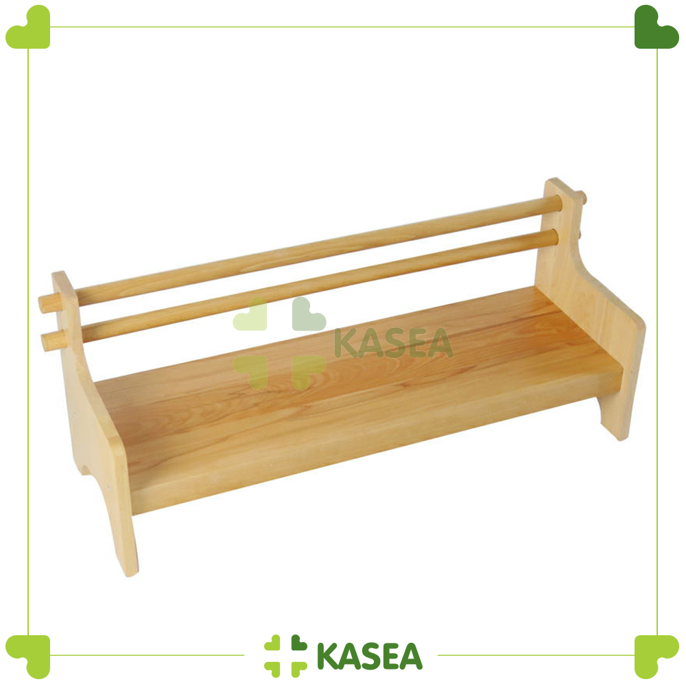 montessori furniture wooden toys Long stool