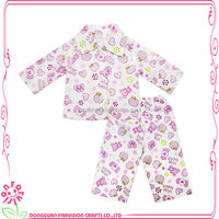 Sleeping baby doll clothes doll pjs