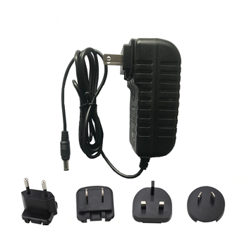 Best Sale Wall Charger 12v 1.5a Power Adapter with Detachable plugs
