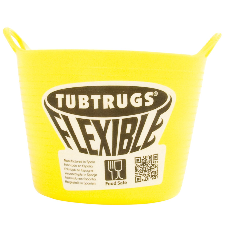 Tubtrugs SPMICYF Flexible Yellow Micro .37 Liter/12.5 Ounce Capacity