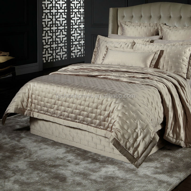 Luxury Super King Size Silk Satin Bedspreads