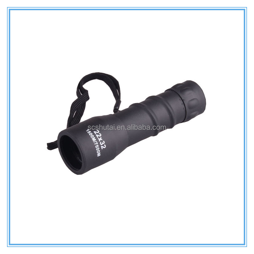 22x32 monocular, long distance high power monocular