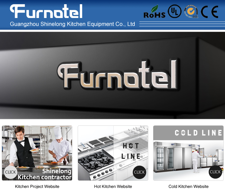 Furnotel Commercial Stainless Steel Kitchen X Series Stand Machinery