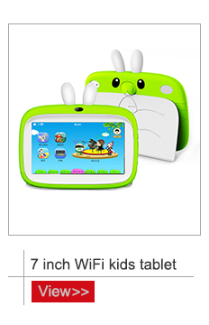 7 inch WiFi tablet kids education quad core Android 6.0 tablet pc for school