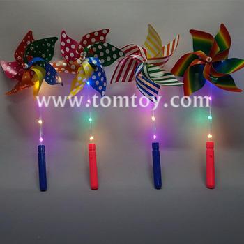 Wholesale Light Up Flashing LED Windmill