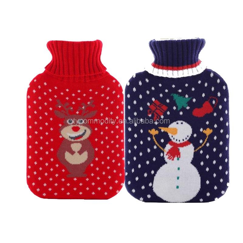 Örme / Polar sıcak su şişesi kapağı 2000ml kauçuk veya pvc sıcak su şişesi kapağı (BS1970: 2012)