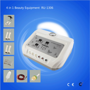 New 4 in 1 multifunction Skin lifting Ultrasonic Skin Scrubber Bio skin facial machine Cynthia RU 1306