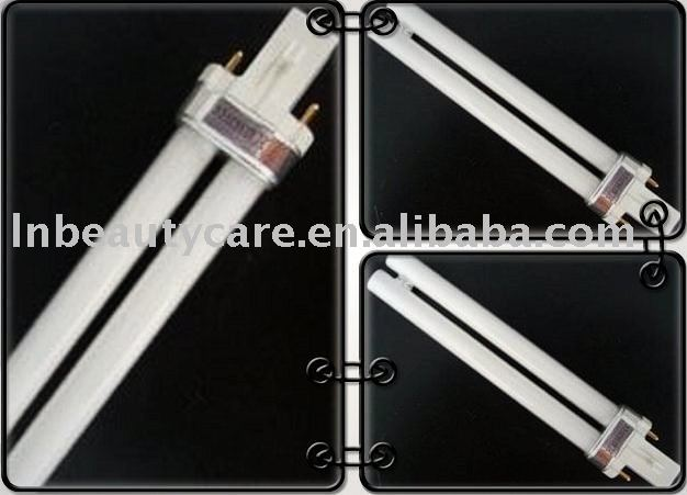 9W H-shape Nail UV Lamp Tube Bulbs for Nail UV Lamps