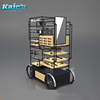 Kaie'a Special Optical Show Car Design Sunglasses Display Eyewear Showcase Display Stand with Wheels