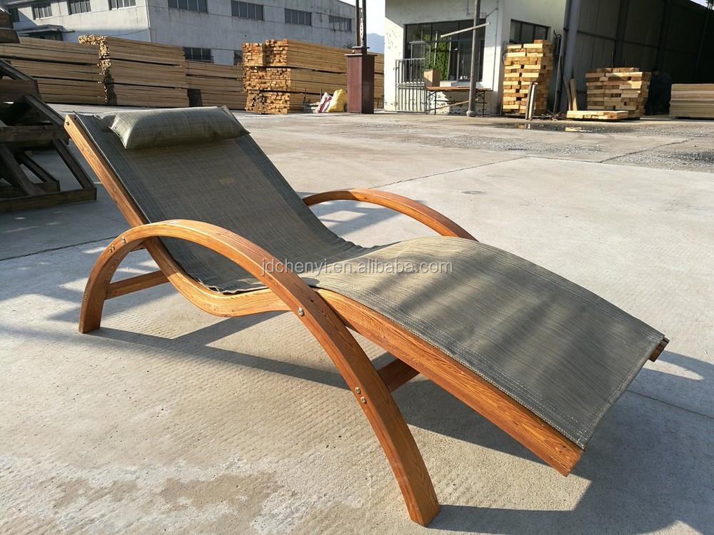 Hôtel Design Longue Moderne Bois En Réglable Piscine Chaise De wk0OPn8