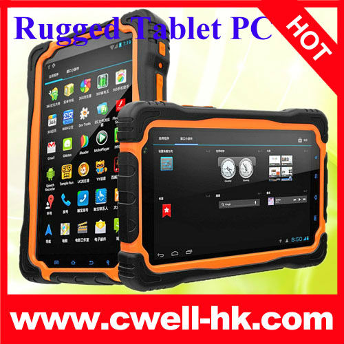 7 Inch IPS Touch Screen MTK6589 quad core 3G tablet PC with GPS