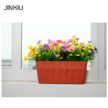 Garten Dekoration Selbst Bewasserung Topfe Fenster Blumenkasten