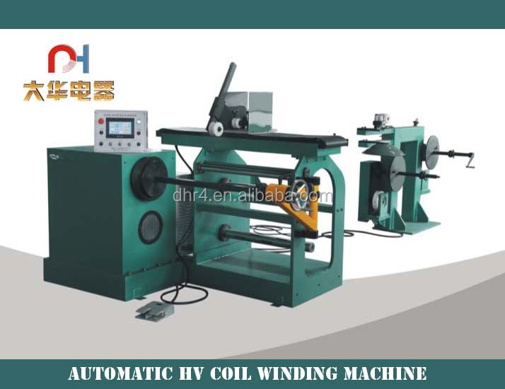 Automatic High-voltage coil copper wire winding machine for amorphous transformer