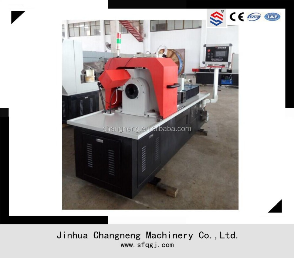 Horizontal pipe feeding style rotary cutters rotary cutting machine