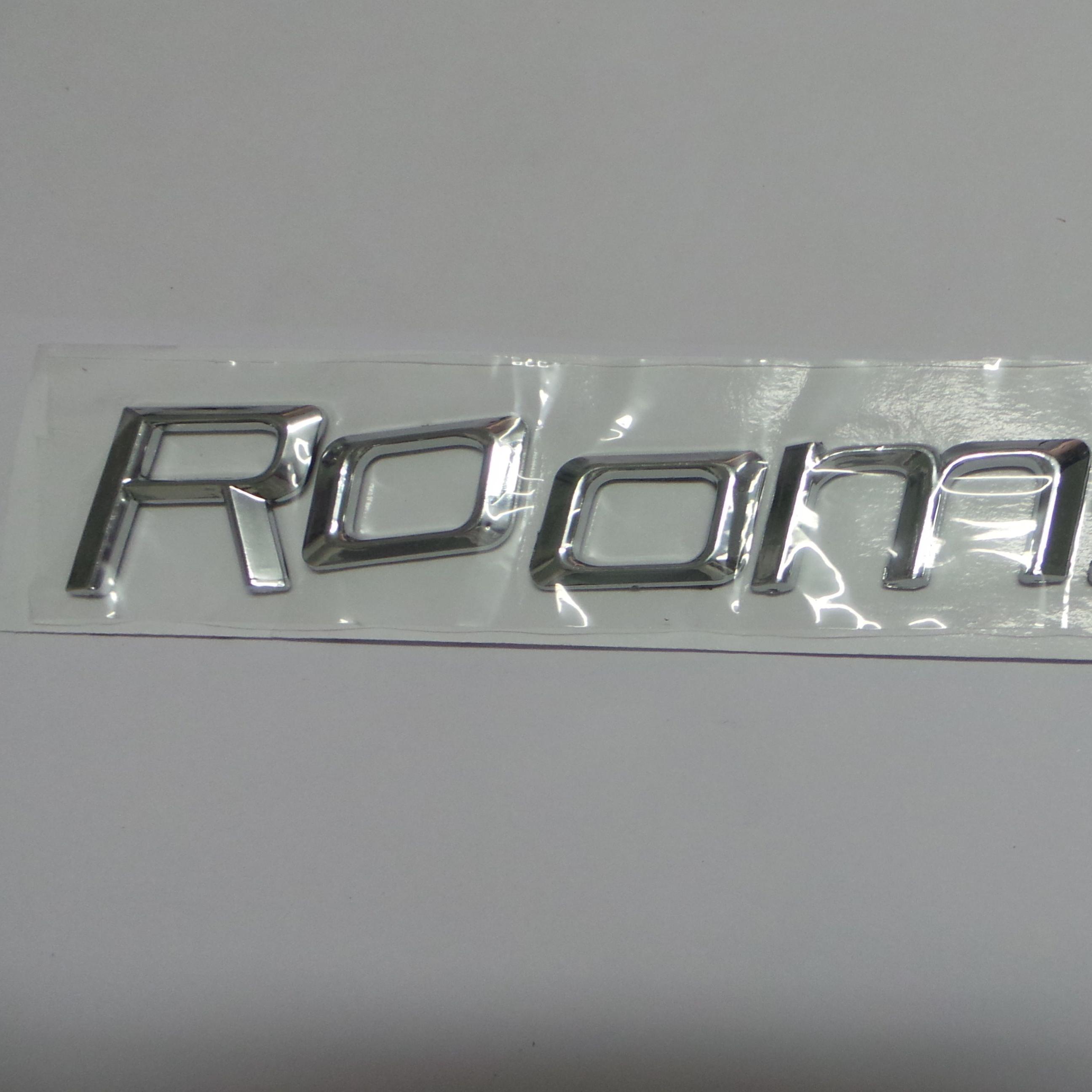 Chevrolet Silverado Suburban Tahoe Set-3 Adhesive Emblem Chrome 3D Letter LTZ