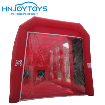 Mobile customized car workstation portable inflatable paint booth for sale