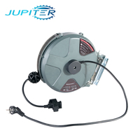 15m pneumatic auto retractable garden hose electric spring cable reel