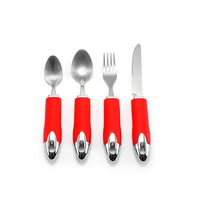 Baby fork /&spoon toddler utensils feeding training child tableware set 2pack~JP