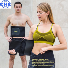 Unisex adjustable Neoprene Waist Trimmer Slimming Belt For Sweats & Weight Loss