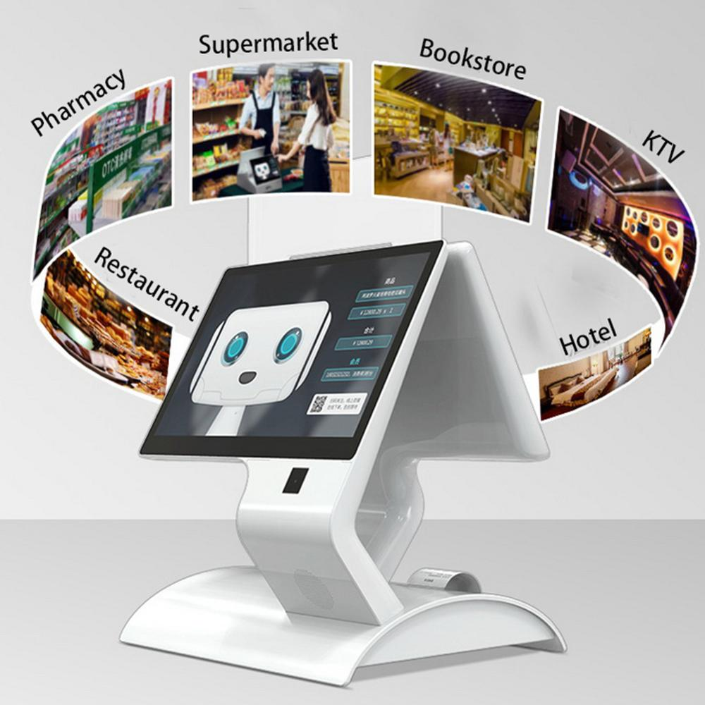 Wetool All In One Pos เครื่อง Android Pos กับเครื่องพิมพ์