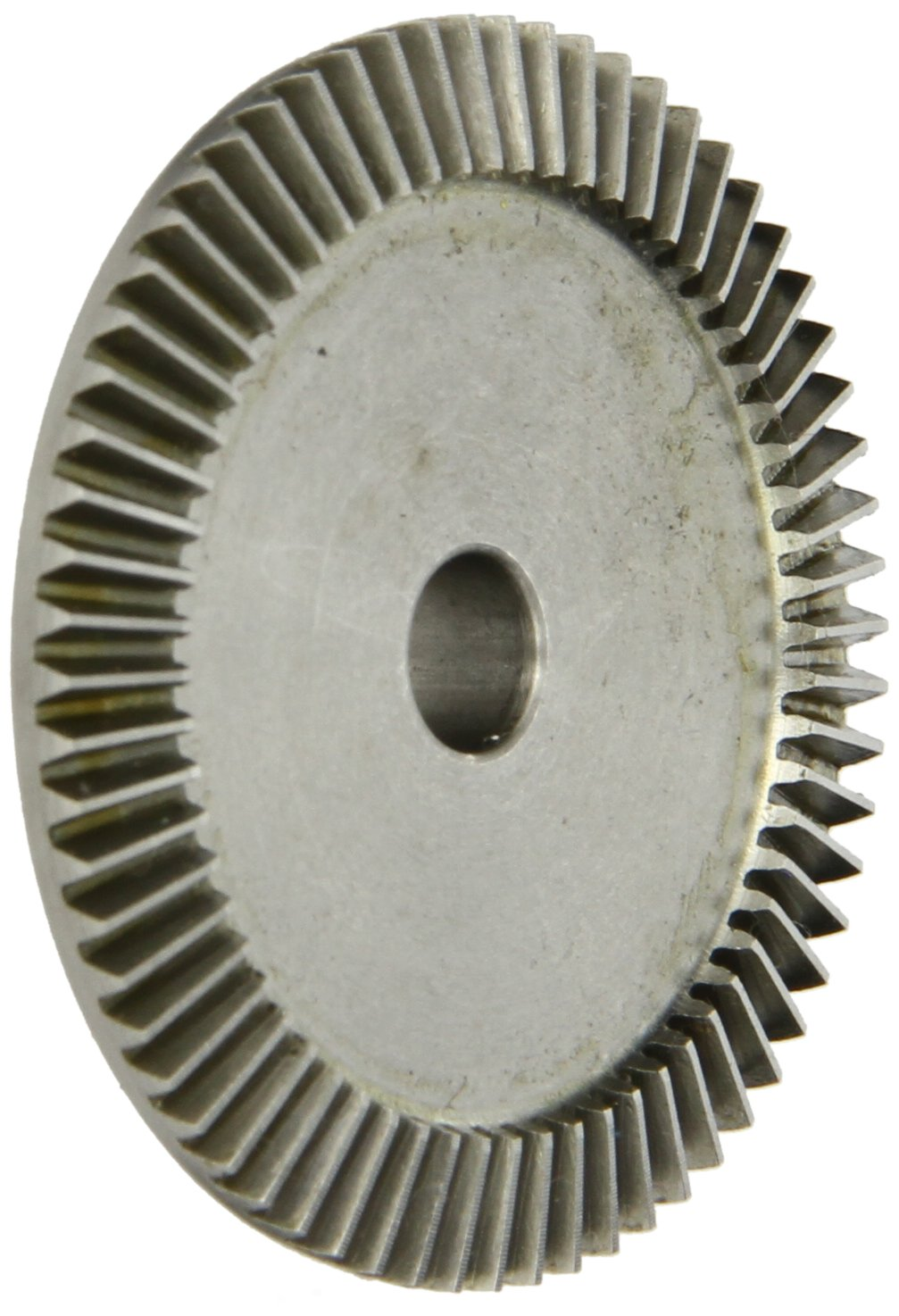 "Boston Gear GSS486YG Bevel Gear, 0.313"" Bore, 4:1 Ratio, 20 Degree Pressure Angle, 32 Pitch, 64 Teeth, Stainless Steel"