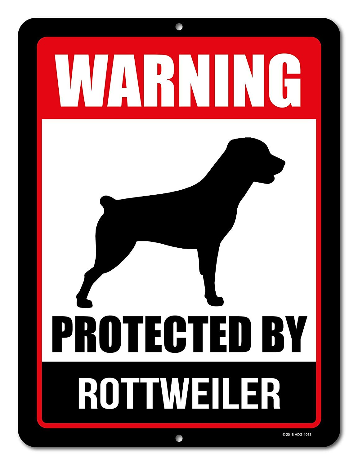 Buy Beware Of Rottweiler Dog Aluminum Sign In Cheap Price On Alibabacom